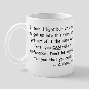 Just One Light Bulb Mug