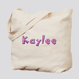 Kaylee Pink Giraffe Tote Bag