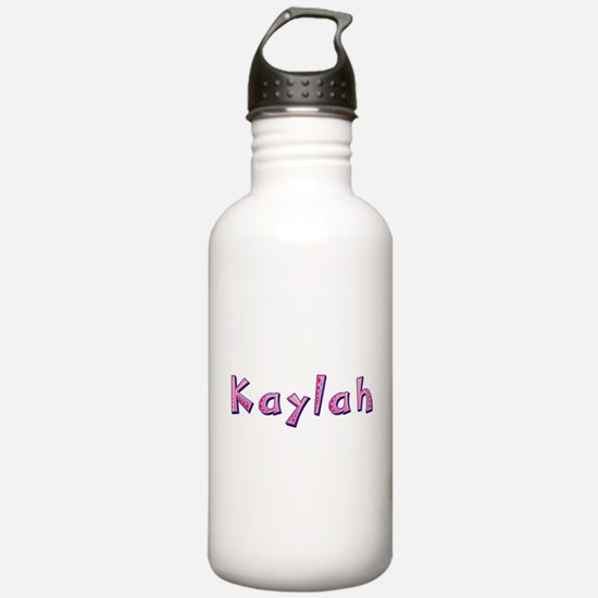 Kaylah Pink Giraffe Water Bottle