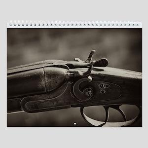 Vintage Firearms Wall Calendar