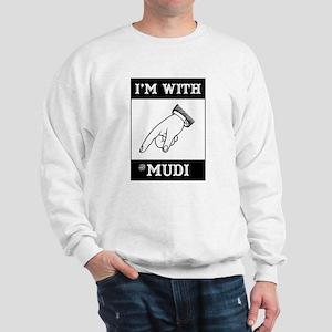With the Mudi Sweatshirt