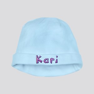 Kari Pink Giraffe baby hat