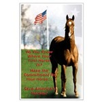 Save America's Horses Poster