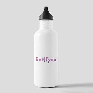 Kaitlynn Pink Giraffe Water Bottle