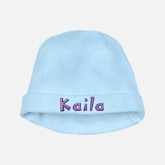 Kaila Pink Giraffe baby hat