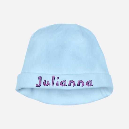 Julianna Pink Giraffe baby hat