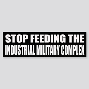 Stop Feeding The Industrialized Military Complex