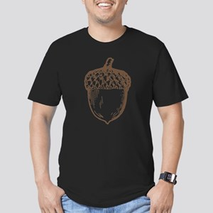 Acorn Men's Fitted T-Shirt (dark)