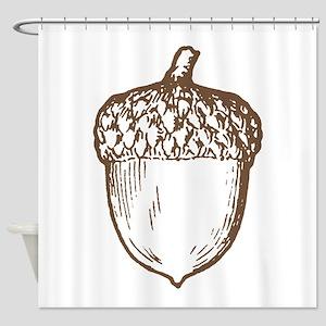 Acorn Shower Curtain