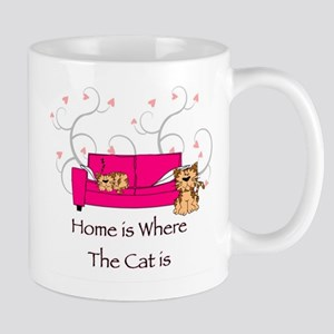 Home is where the Cat is Mugs