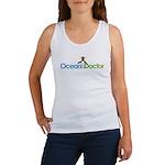Ocean Doctor Penguin Logo Tank Top