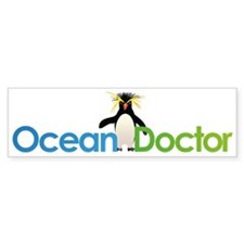 Ocean Doctor Penguin Logo Bumper Sticker
