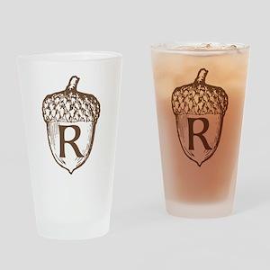Acorn MONOGRAM Drinking Glass
