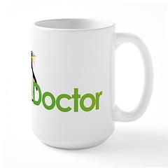 Ocean Doctor Penguin Logo Mugs