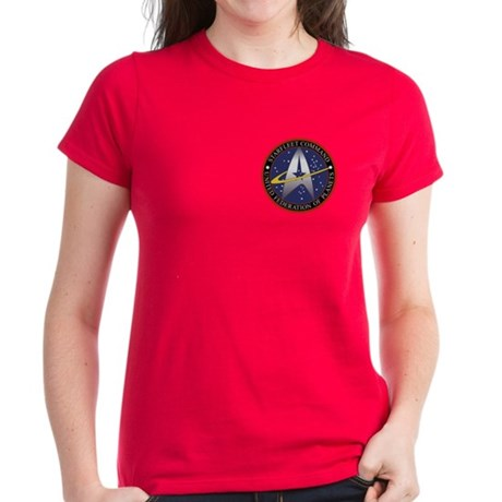 Starfleet Command Women's Women's Dark T-Shirt