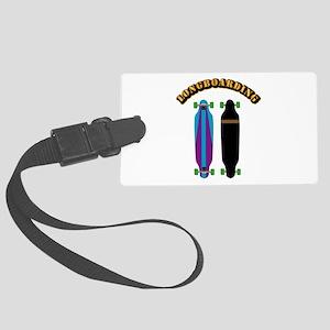 Longboard - Longboarding Large Luggage Tag