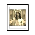 The Trial Of Jesus Framed Panel Print