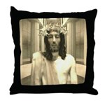 The Trial Of Jesus Throw Pillow