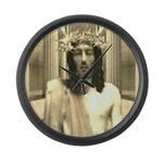 The Trial Of Jesus Large Wall Clock