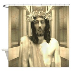 The Trial Of Jesus Shower Curtain
