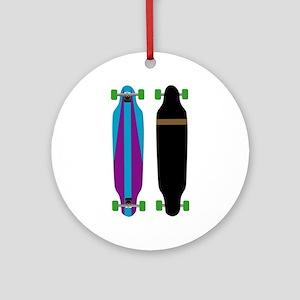 Longboard - Longboarding - No Txt Ornament (Round)