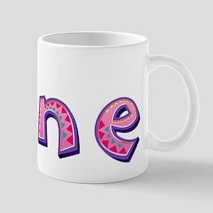 Jane Pink Giraffe Mugs