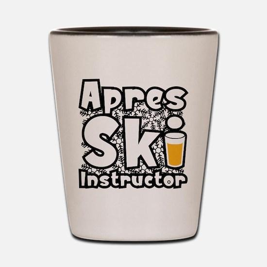 Apres Ski Instructor Shot Glass
