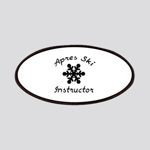 Apres Ski Instructor Patches