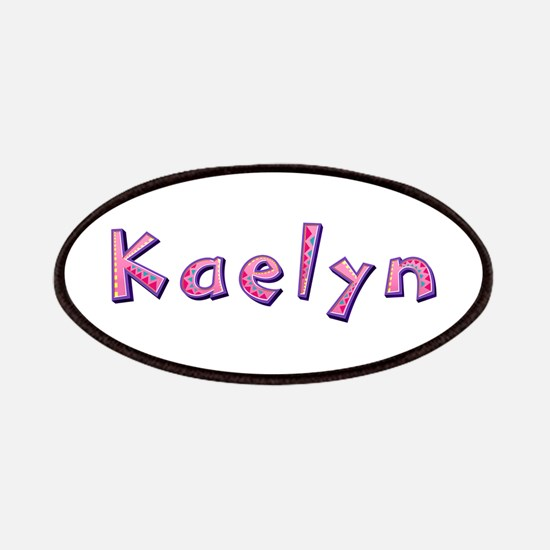 Kaelyn Pink Giraffe Patch