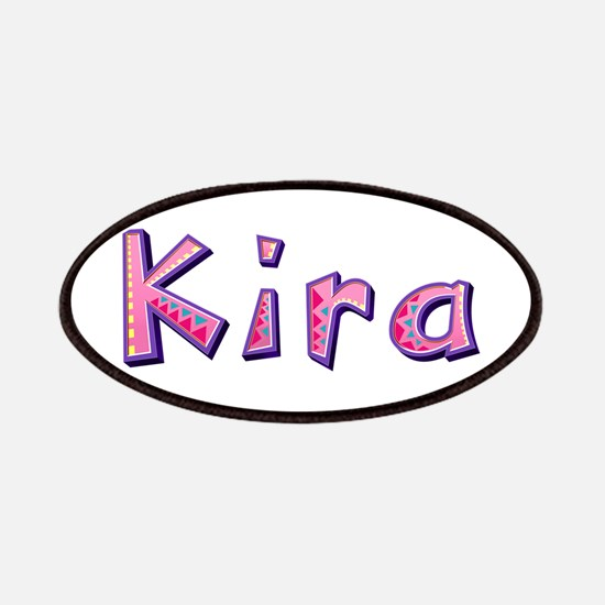 Kira Pink Giraffe Patch