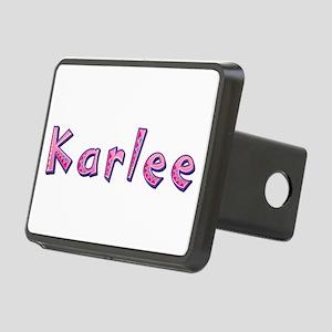 Karlee Pink Giraffe Rectangular Hitch Cover