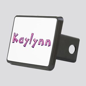 Kaylynn Pink Giraffe Rectangular Hitch Cover