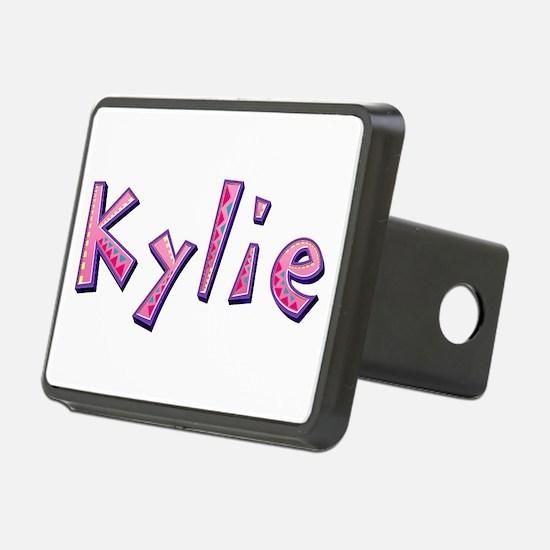 Kylie Pink Giraffe Hitch Cover