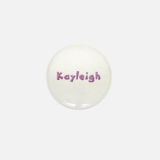 Kayleigh Pink Giraffe Mini Button