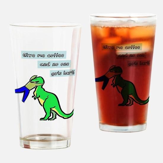 Funny Coffee Humor Drinking Glass