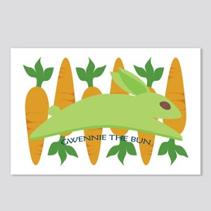 Gwennie The Bun Carrots Postcards (Package of 8)