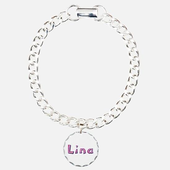 Lina Pink Giraffe Bracelet
