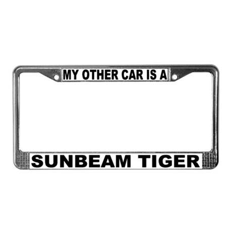 My Other Car Is A Sunbeam Tiger License Frame #2