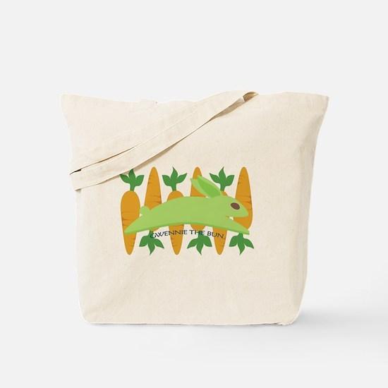 Gwennie The Bun Carrots Tote Bag