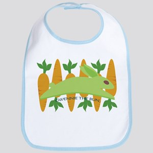 Gwennie The Bun Carrots Bib