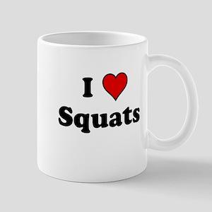I Heart Squats Mugs