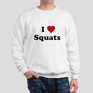 I Heart Squats Sweatshirt