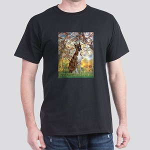 Spring with a Boxer Dark T-Shirt