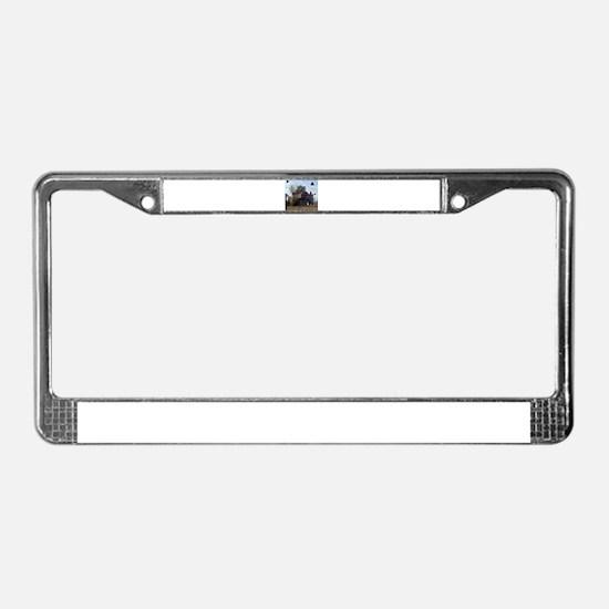 Downtown Asbury Park NJ License Plate Frame