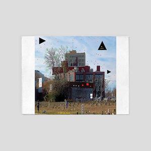 Downtown Asbury Park NJ 5'x7'Area Rug