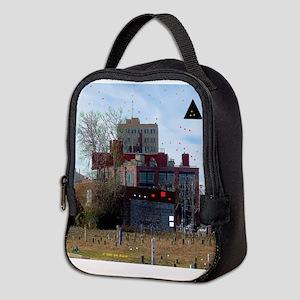 Downtown Asbury Park NJ Neoprene Lunch Bag