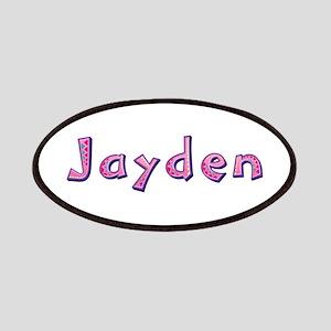 Jayden Pink Giraffe Patch