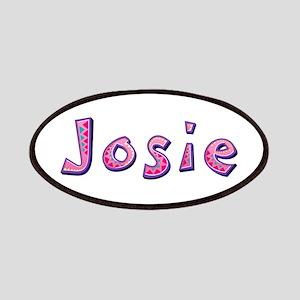 Josie Pink Giraffe Patch