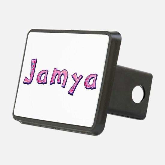 Jamya Pink Giraffe Hitch Cover