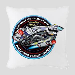 STAR TREK DS9 Logo Woven Throw Pillow
